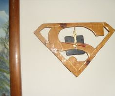 Simple Superman Clock tutorial