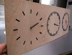 Three Part Clock tutorial