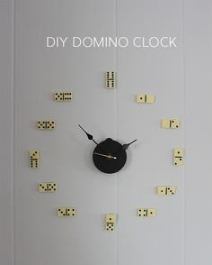 DIY domino clock tutorial