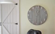 Rustic Wall Clock tutorial