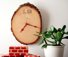 wooden clock tutorial