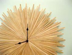 How To Make An Original Sunburst Clock