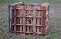 Compost Bin Pallet Project