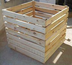 Simple Wooden Composter