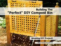 Building The Perfect DIY Compost Bin