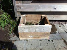 Recycled Pallet Compost Box