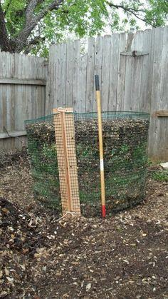 Cheap and Easy Compost Bin