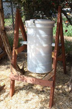 Spinning Compost Bin