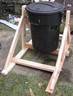 Drum Garbage Can Composter
