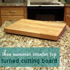 Wooden cutting board plans