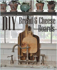 DIY Bread and Cheese Board