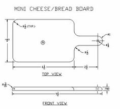 Mini Cheese Board plans