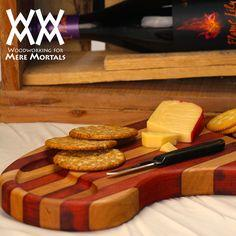 Make a cheese cutting board