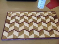 3-D Cutting Board