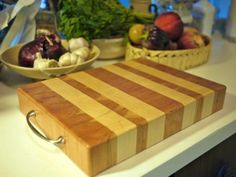 Making an end-grain cutting board