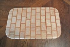 Brick Pattern Cutting Board