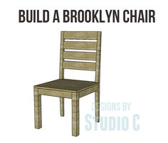 Free Plans   Brooklyn Chair
