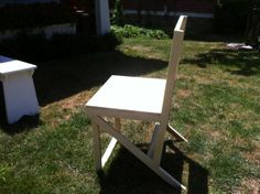 Adirondack Style Dining Chair