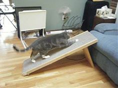 How To Make a Folding Pet Ramp