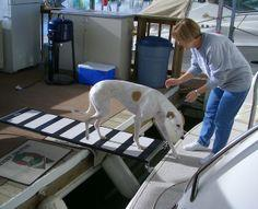 Boat Projects: Ramps for dogs