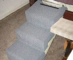 Dog stairs for bed, take 2 (successful)