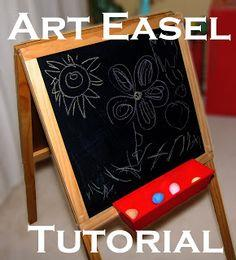 Art Easel Plans