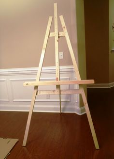 Quick and Easy Artist Easel