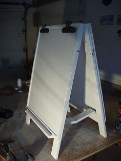 Child's Easel Photo