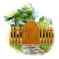 Picket Fence and Gate plans