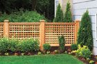 Build a Wood Lattice Fence