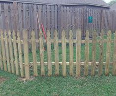 Building a Semi-Permanent Fence