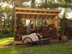 Build a Firewood Shed