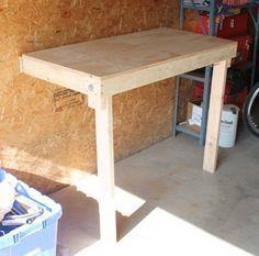 Amazing Budget Friendly Folding Workbench ($25) Tutorial