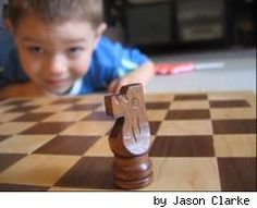 Make an all-wood chess board