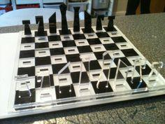Laser cut travel chess set plans