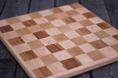 Solid Wood Chess Board