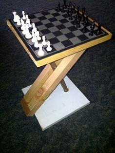 Disappearing Chess Board