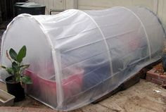Build an Easy 5 x 5 Greenhouse