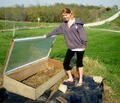 Cold Frame from Recycled Materials