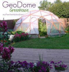 Build a GeoDome Greenhouse