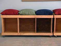 Build a Rolling Storage Bench