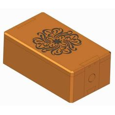 Wooden puzzle box plan
