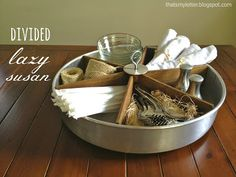 Lazy Susan tabletop