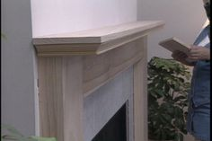 HOW TO BUILD A FIREPLACE MANTLE