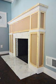 Fireplace Makeover: The Build Out