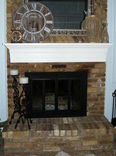 Dear Internet, HERE'S How to Build a Fireplace Mantel