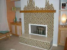 How To: Kirei Board Fireplace Mantel