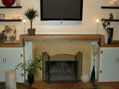 Create a Contemporary Fireplace Mantel