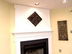 Weekend Projects: Extending the Space Above the Fireplace Mantel
