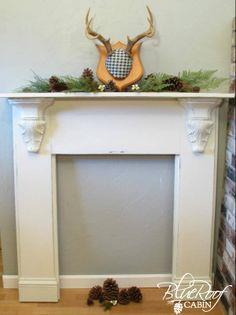 Guest Post {how to make a faux mantel}
